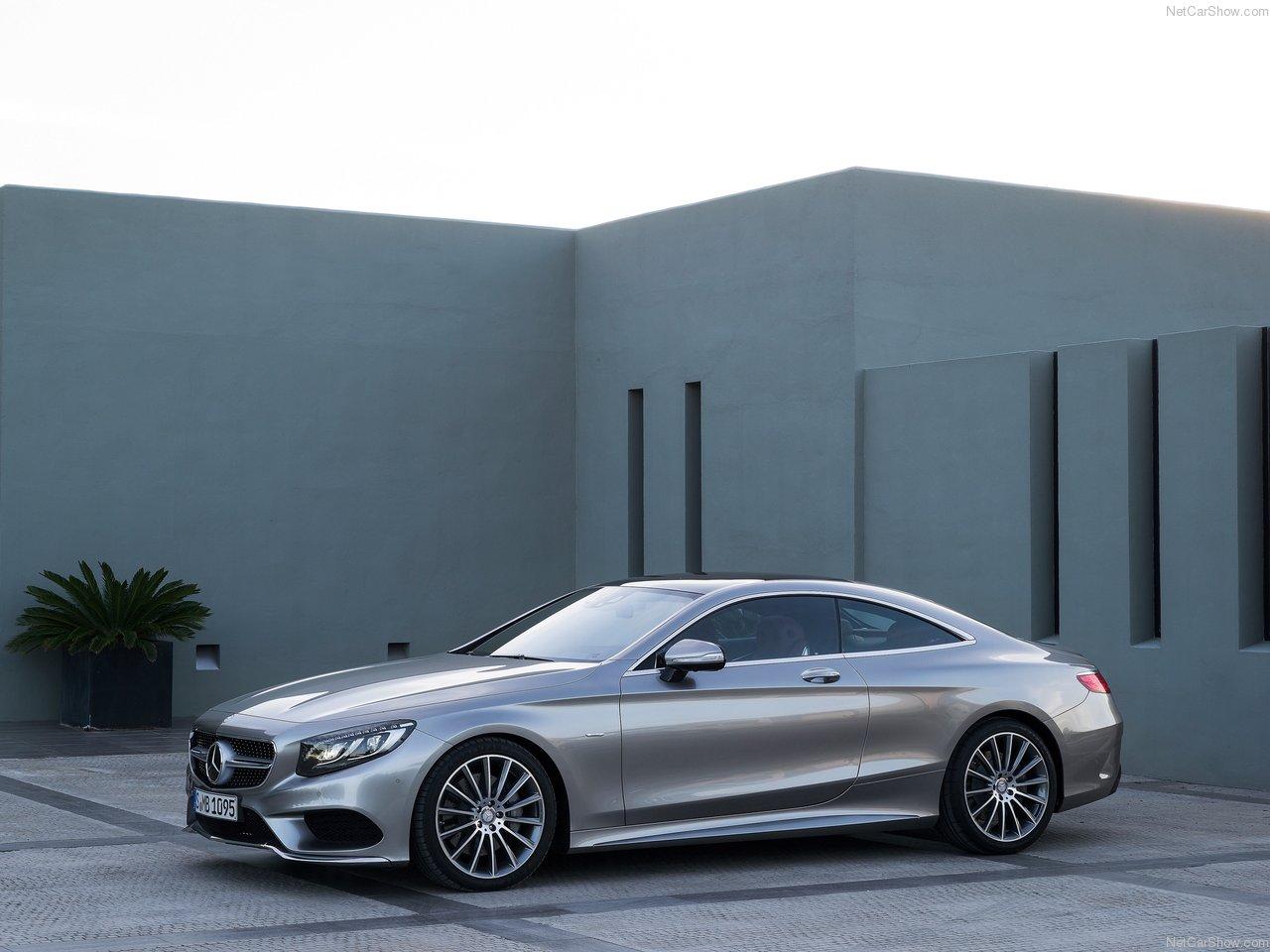 Mercedes benz s class coupe wallpaper
