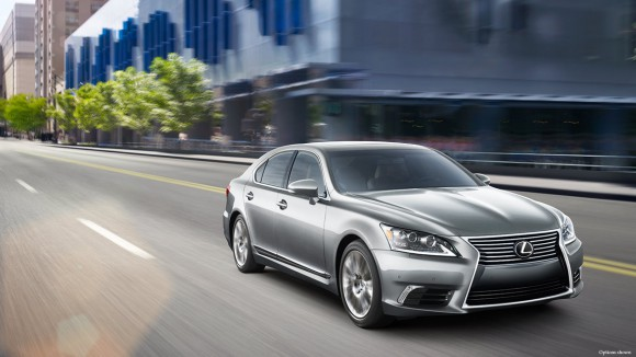 2014-Lexus-LS-exterior-front-three-quarter-official-press-shot