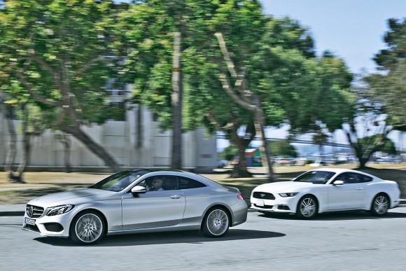 Mercedes-C-Klasse-Coup-2016-vs-Ford-Mustang-1200x800-ace2eedae64ba4db